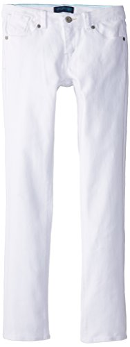 Levi's Girls' 711 Skinny Fit Jeans , White, 16 by Levi's