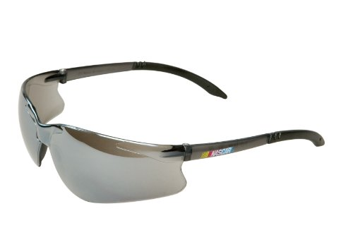 encon-wraparound-nascar-gt-safety-glasses-silver-mirror-lens-gray-frame-pack-of-1