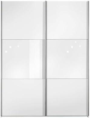 Puerta corredera Trio anchura: 152 cm (2-puertas), color (capa exterior): nogal, color (front): nogal: Amazon.es: Hogar