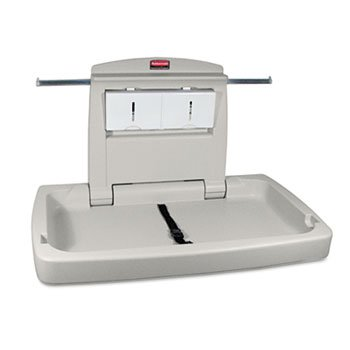 Sturdy Station 2 Baby Changing Table, Platinum