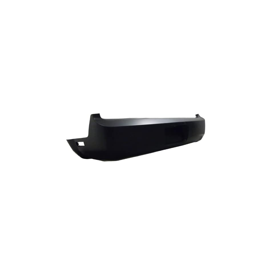 FD04248BB TY5 Ford Mustang Primed Black Replacement Rear Bumper Cover