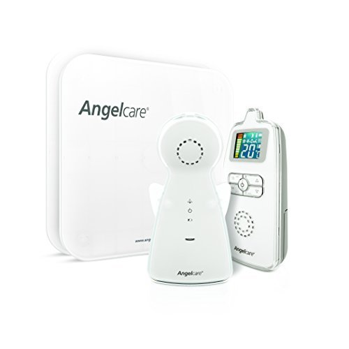Angelcare Movement and Sound Monitor, Aqua/White, 2PU by Angelcare