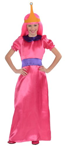 Adventure Time Costumes For Adults (Rubies Adventure Time Child's Bubblegum Princess Costume, X-Large)