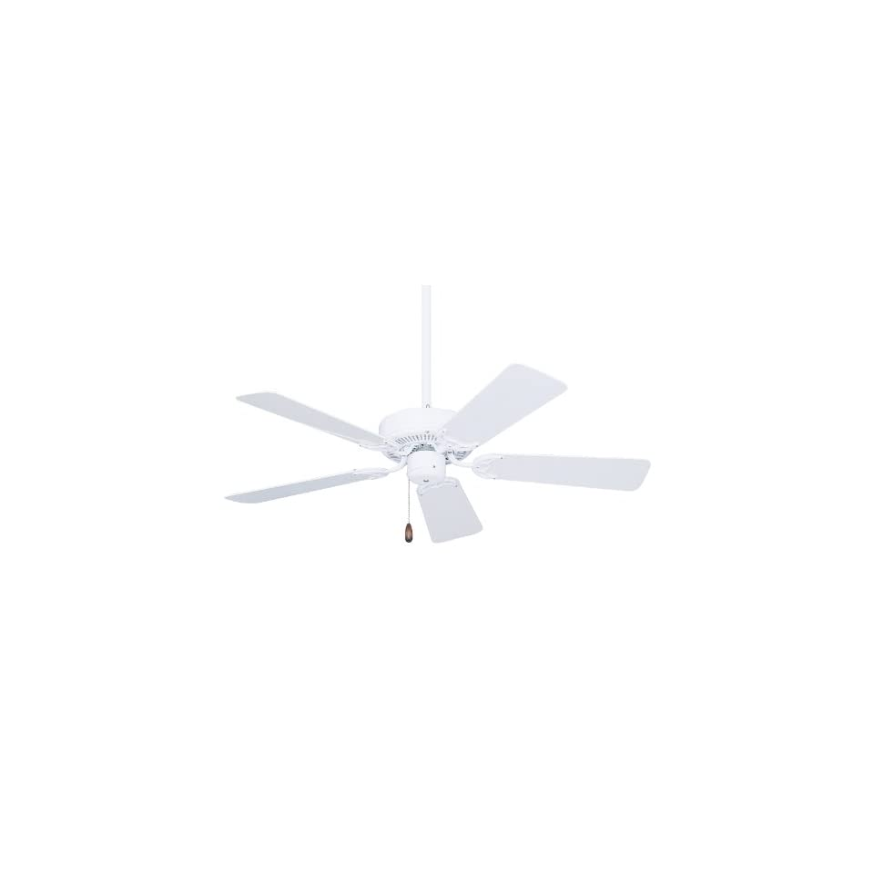 Emerson CF742PFWW Summer Night Indoor/Outdoor Ceiling Fan, 42 Inch Blade Span, Appliance White Finish and All Weather Appliance White Blades