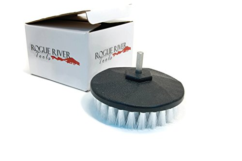 Rogue River Tools Rotary Drill Boat Hull Cleaning Brush (Soft)
