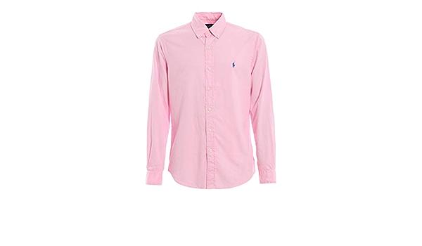 Polo Ralph Lauren Camisa - Rosado, XL: Amazon.es: Ropa