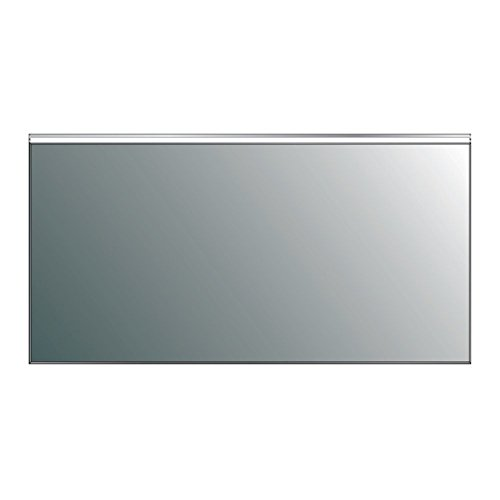 Eviva Evmr03-72x30-Led Lite Wall Mounted Modern Bathroom Vanity Backlit Lighted Led Mirror Combination, Aluminum by Eviva