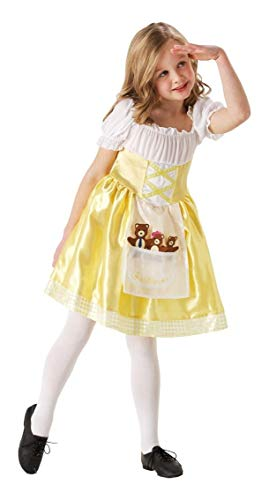 Henbrandt Porridge Girl / Goldilocks Costume Age 7-9 Years