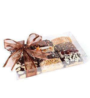 Gourmet Chocolate Biscotti Gift Basket - Sampler Box