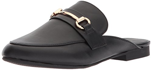 Topline Womens Kassy Pointed Toe Flat Black KpJYZ