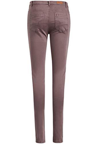 Khujo Mauve Uni Skinny Femme Pantalon qxvnOqB