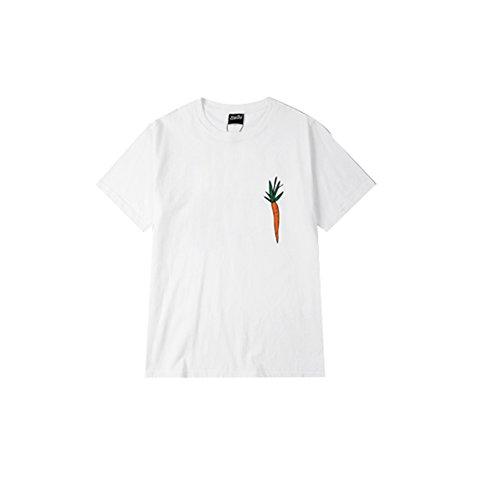 LING Star hip hop Hot fashion tee shirts NEW harajuku t-shirt SUMMER cartoon tops White Asian (Rimmel Stars)