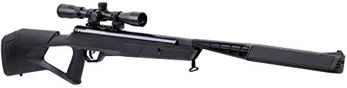 Crosman BTN2Q2SX Trail SBD Air Rifle, Black, 0.22 Caliber