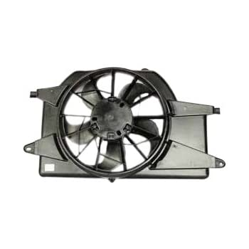 Radiator And Condenser Fan For Saturn Fits Vue GM3115176