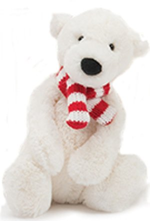 Amazon Com Jellycat Pax Polar Bear Small 7 Inches Baby