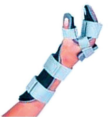Resting Hand Orthosis Without Finger Separators, Size: Medium - Left by Rolyn Prest