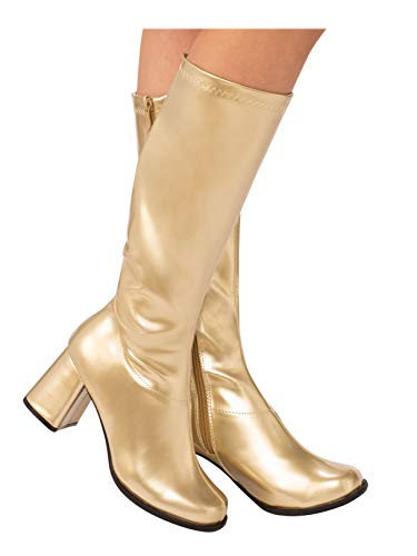 (Gold GoGo Boot for Adults)