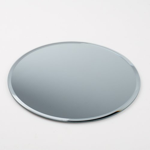 "Eastland 10"" Round Beveled Centerpiece Table Mirror"