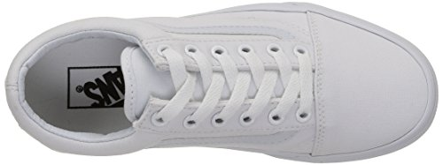 Zapatillas Blanco Vans Adulto True U W00 Skool White Unisex Old qqgZtwY