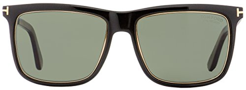 98b80b7ff1b40 Tom Ford FT0392 KARLIE Sunglasses Shiny Black Polarized - Import ...