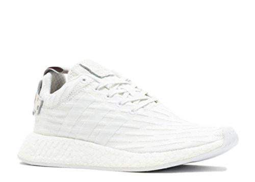 finest selection 4040b c651d Adidas NMD R2 PK Primeknit W Triple White Granite Polka Dot BY2245 US  Women's Size 6