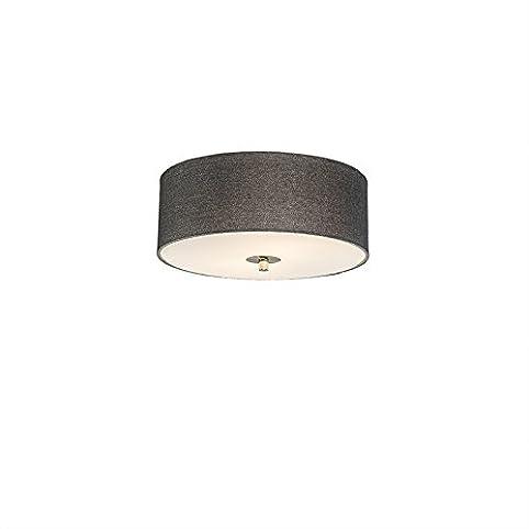 qazqa landhaus / vintage / rustikal / modern / deckenleuchte ... - Wohnzimmer Deckenlampen Rustikal