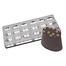 Fat Daddios Chocolate Mould - Magnetic - Oval - Angled