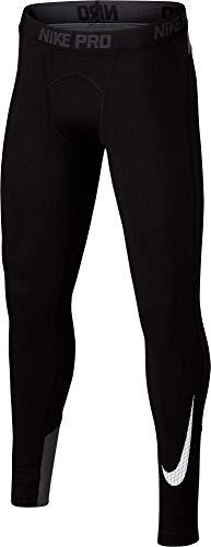 - NIKE Boy's Dri-FIT Cold Weather Compression Leggings (Black, X-Small)