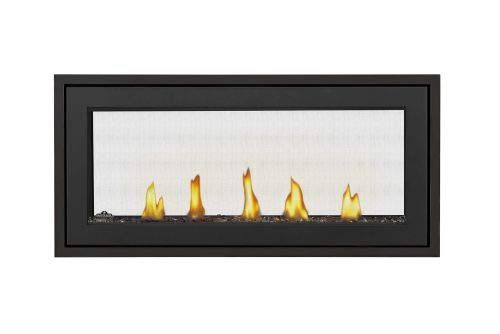 Acies 38 See Thru Direct Vent Natural Gas Fireplace - Package 2