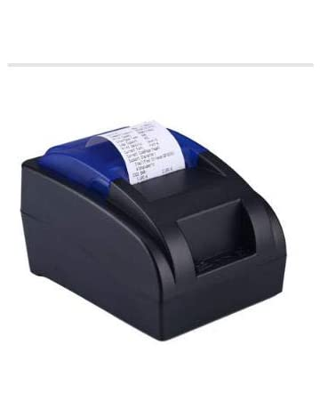 Impresora térmica para recibos USB de 58 mm, impresión de alta velocidad de 90 mm