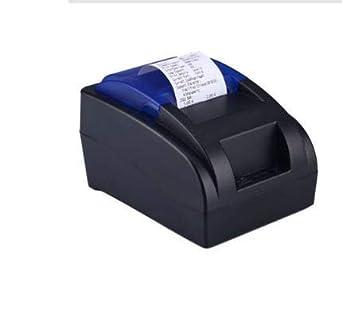 Impresora térmica para recibos USB de 58 mm, impresión de alta ...