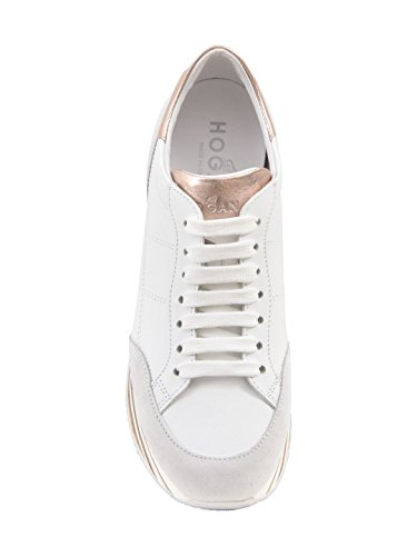 Hogan Women Hxw3490j061i7x0989 Sneakers In Pelle Bianca