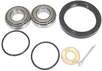 BossBearing Both Front Wheel Bearing Kit Arctic Cat 650 H1 4x4 Auto 2005 2006 2007 2008