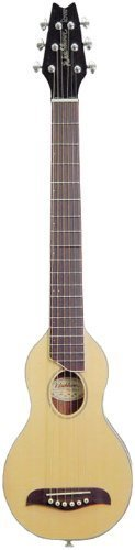 Washburn RO10 Rover Steel String Travel Acoustic Guitar - Natural)