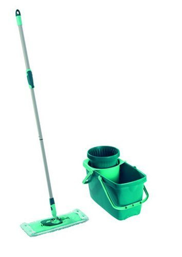 leifheit clean twist spin mop system with bucket and flat mop head by leifheit buy online in. Black Bedroom Furniture Sets. Home Design Ideas