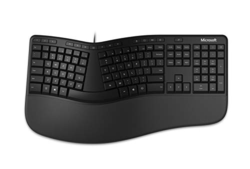 Microsoft Ergonomic Keyboard (LXM-00001), Black
