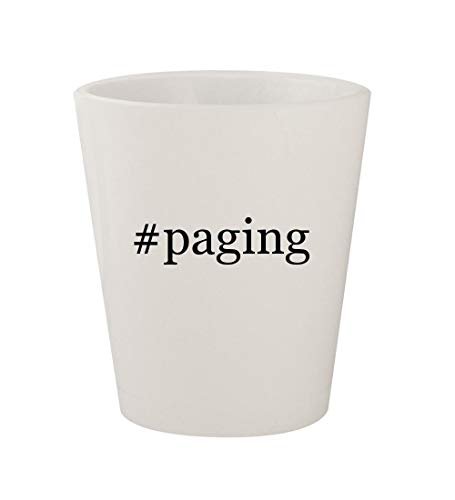 #paging - Ceramic White Hashtag 1.5oz Shot Glass]()