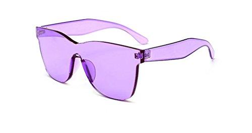 Gafas Forma Candy Sol morado 6cm Sol Gafas Corazón de con UV Morado de de Fishroll de 5 2x14x14 Colores AqSRRF