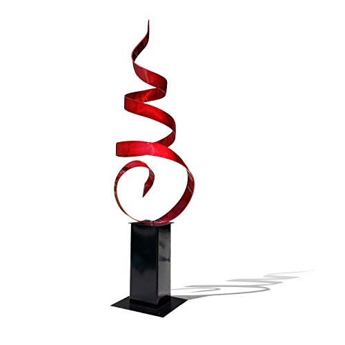 Abstract Metal Sculpture - Red Sea Breeze