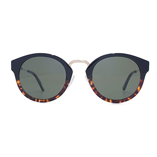 In Occhiali da Verde rotondi Tortoise Metal 03 Bridge vintage Nero Shell Lo22459 Levis The sole Ew406q