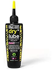 Muc-Off Dry Chain Lube, 120 Millilitres - Biodegradable Bike Chain Lubricant, Suitable for All Types of Bike - Formulated for Dry Weather Conditions