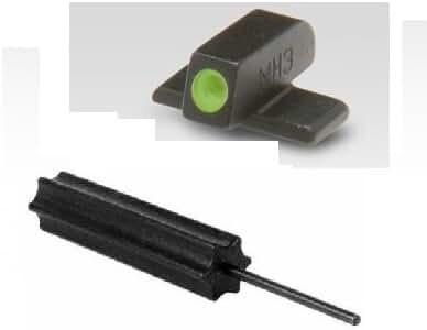 Meprolight ML10110 SIG SAUER P220 P225 P226 P228 P229 P239 P245 SP2009, SP2340 & SP2022 9mm/.357 Set Green #8 Front Tritium Night Sight + Ultimate Arms Gear 3/32 Pin Punch Gunsmith Tool