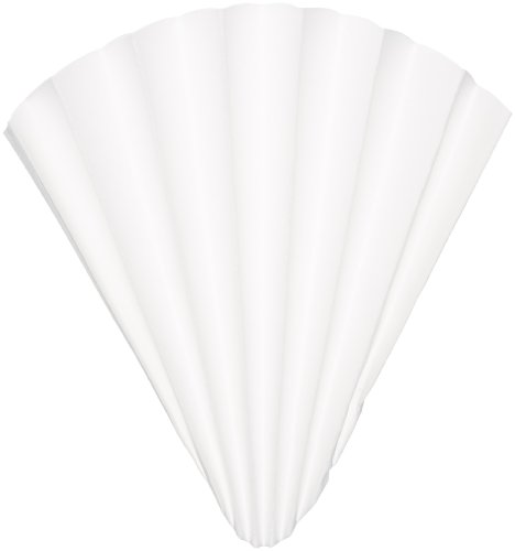 GE Whatman Reeve Angel 5802-320 Qualitative Filter Paper, Circle, Creped Surface, Prepleated, Fast Speed, Grade 802, 32cm Diameter (Pack of 100)
