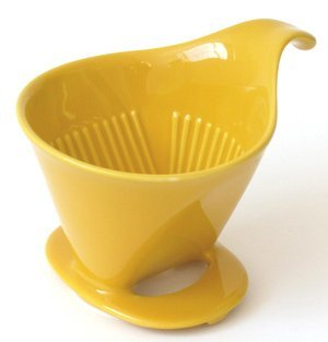 Bee House Ceramic Coffee Dripper - Drip Cone - Ceramic Bee