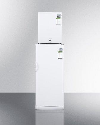 Summit MED Series FFAR10-FS30LSTACKMED White Refrigerator-Fr