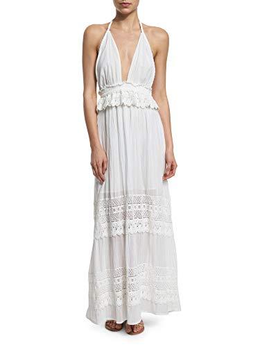 LOVESHACKFANCY Women's Braided Love Crocheted Maxi Dress 1/Small White