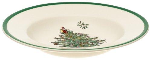 Christmas Tree Soup (Spode Christmas Tree Soup Plate)