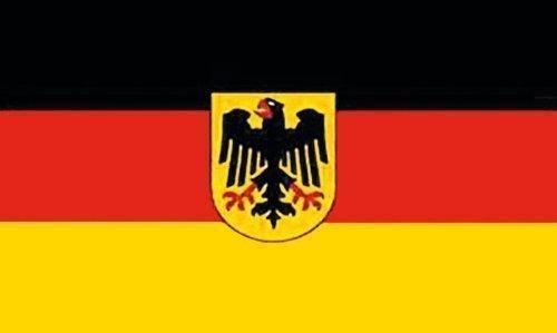 Deutschland Fahne Flagge mit Adler + Öse 90x150cm