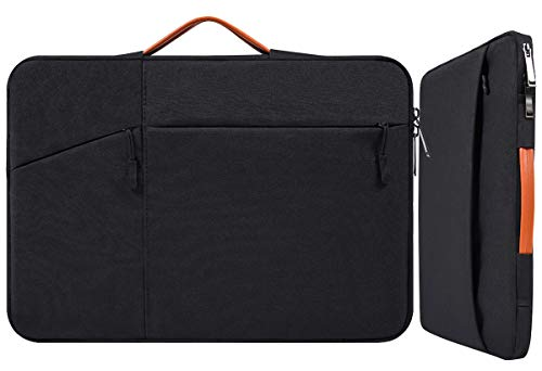 14-15 Inch Waterproof Laptop Sleeve Men Women Briefcase with Handle for Dell XPS 15 9560 9570, Acer Chromebook 14, Dell Inspiron 14