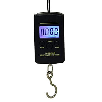 8f90e3414fde Ants-Store - LED scale 40kg/10g Electronic Hanging Scale Fishing ...